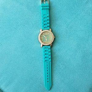 Teal Fashion Watch